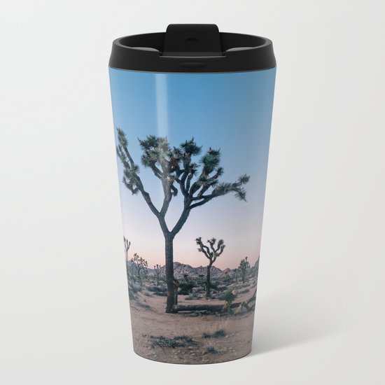 Joshua Tree at Sunset Metal Travel Mug