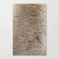 ferret Canvas Prints featuring Ferret Texture by Diego Tirigall