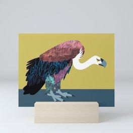 V is a vulture Mini Art Print