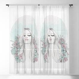 bloom v2 Sheer Curtain