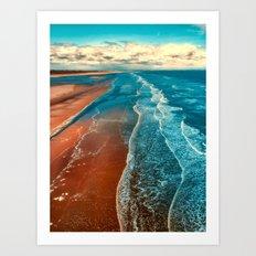 Sky Tide Art Print