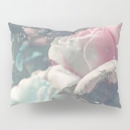 Underwater Roses Pillow Sham