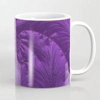 renaissance Mugs featuring Renaissance Purple by Charma Rose