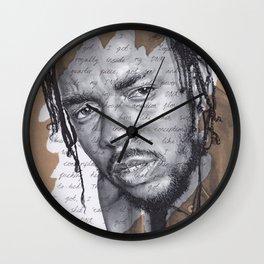 DNA - Kendrick Lamar Wall Clock