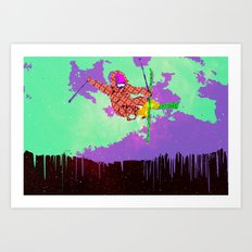 Snowstronomy Art Print