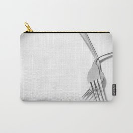 Hand in hand / Tomados de la mano Carry-All Pouch
