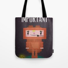 Space-cation Tote Bag