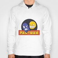 pac man Hoodies featuring pac-man by Jung Imjen