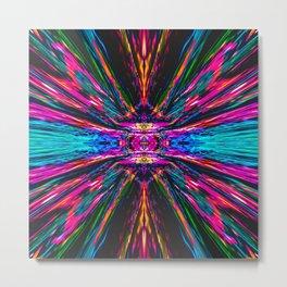 Nebula Space Psychedelic Trip v5 Metal Print