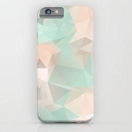 SERENITY & ROSE QUARTZ LOWPOLY iPhone Case