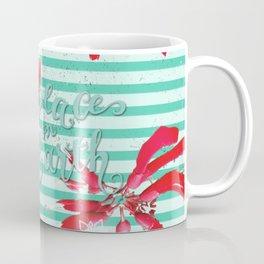 Falalalala Flower Coffee Mug