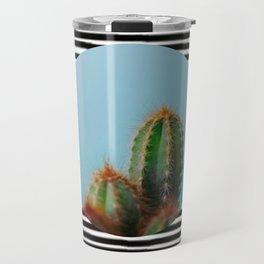 stripe-y Travel Mug