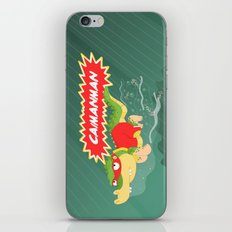Caimanman iPhone & iPod Skin