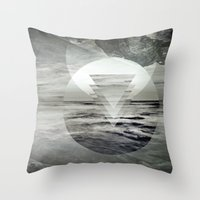 inception Throw Pillows featuring Inception Landscape by monicamarcov