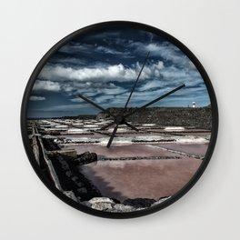Saline at La Palma Wall Clock