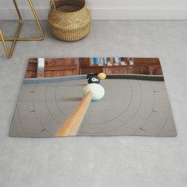 Eight Ball Corner Pocket Rug