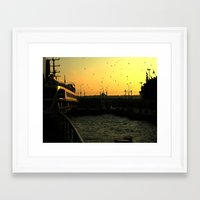istanbul Framed Art Prints featuring Istanbul by habish