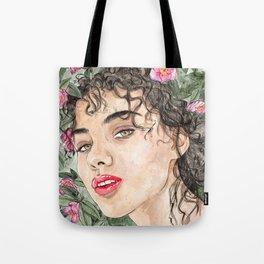 Flower Rae Tote Bag