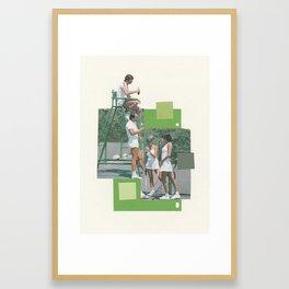 Learning to Smash Framed Art Print