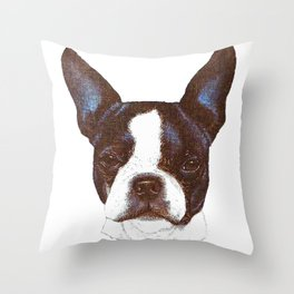 dear dog Throw Pillow