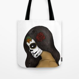 The Day Of The Dead Girl Tote Bag
