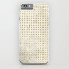 gOld squares Slim Case iPhone 6