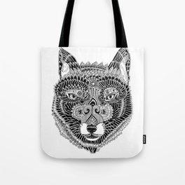 FOX-HEAD Tote Bag