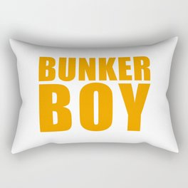 Bunker Boy Rectangular Pillow