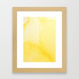 Sunshine Watercolor Framed Art Print