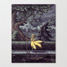 Wet & Windy Canvas Print