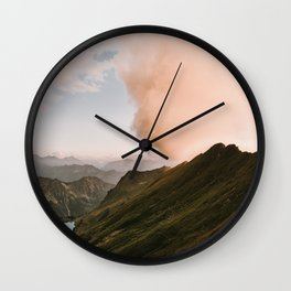 Far Views II - Landscape Photography Wall Clock