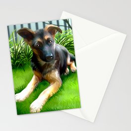 Lua the cutest GS Pup Stationery Cards