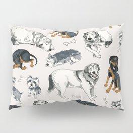 Puppies and Bones Pillow Sham