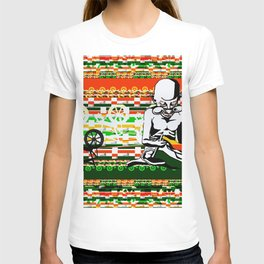 Ghandi and his Spinning Wheel T-shirt