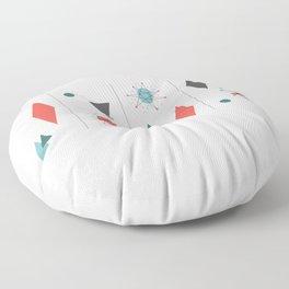 Mid Century Modern Design Floor Pillow