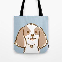 Cocker Spaniel Cartoon Dog Tote Bag