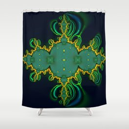 Emerald Art Shower Curtain