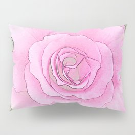 241 - One Rose Pillow Sham