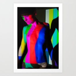 Abstract Projections Art Print