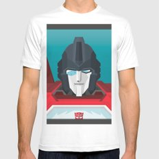 Perceptor MTMTE White Mens Fitted Tee MEDIUM