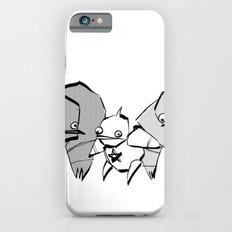 minima - slowbot 006 (clock) iPhone 6s Slim Case