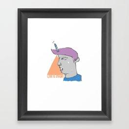 We are all Unicorni Framed Art Print