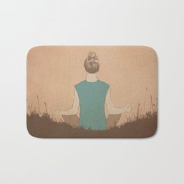 Meditate Bath Mat
