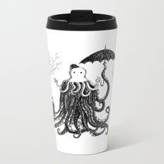 Young Master Lovecraft Finds A Friend Metal Travel Mug