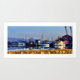 Mystic Seaport Art Print