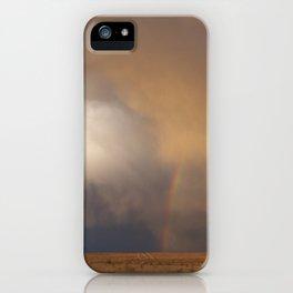 New Mexico Rainbow iPhone Case