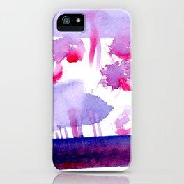 Hidden Magenta iPhone Case
