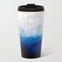 All good things are wild and free - Ocean Ombre Painting Travel Mug
