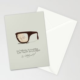 Salvador Allende Lente - TrincheraCreativ Stationery Cards