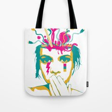 Liquid thoughts:Girl Tote Bag